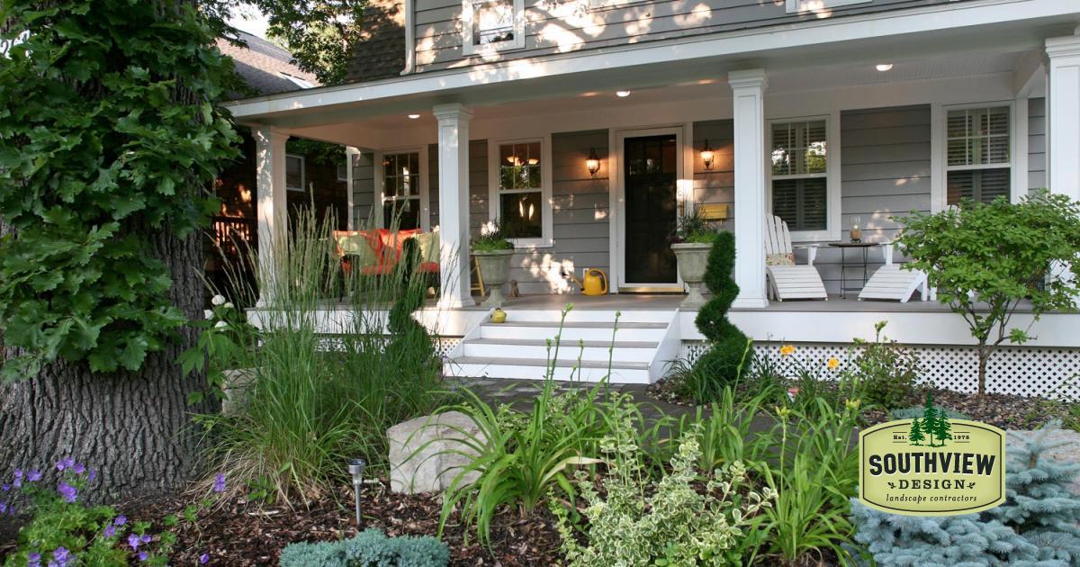Shady Front Yard Garden Landscape Southview Design
