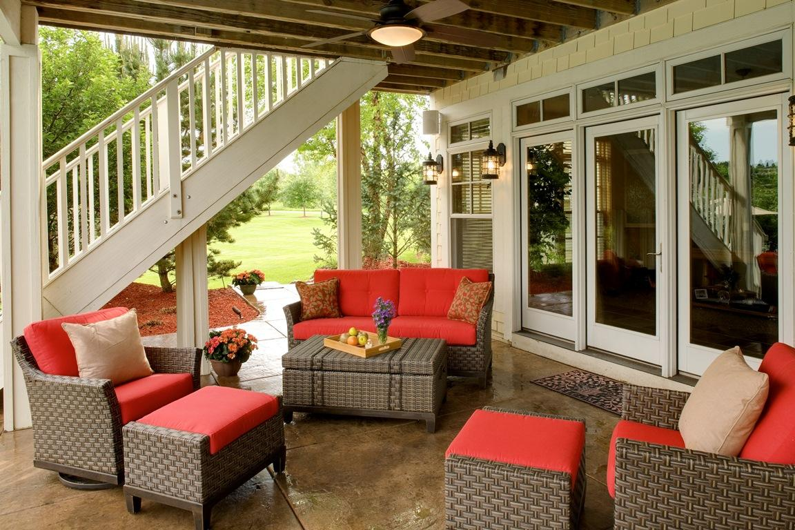 Outdoor Living Under the Deck | Southview Design Blog on Living Room Deck id=82512