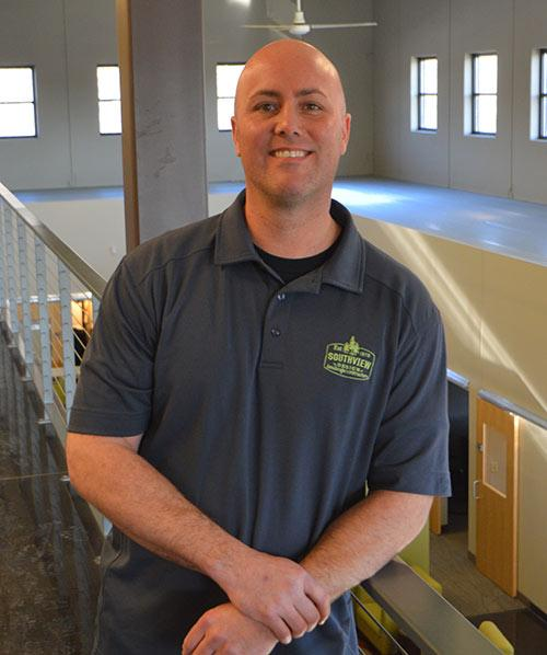 Ross Inselman, facility manager.