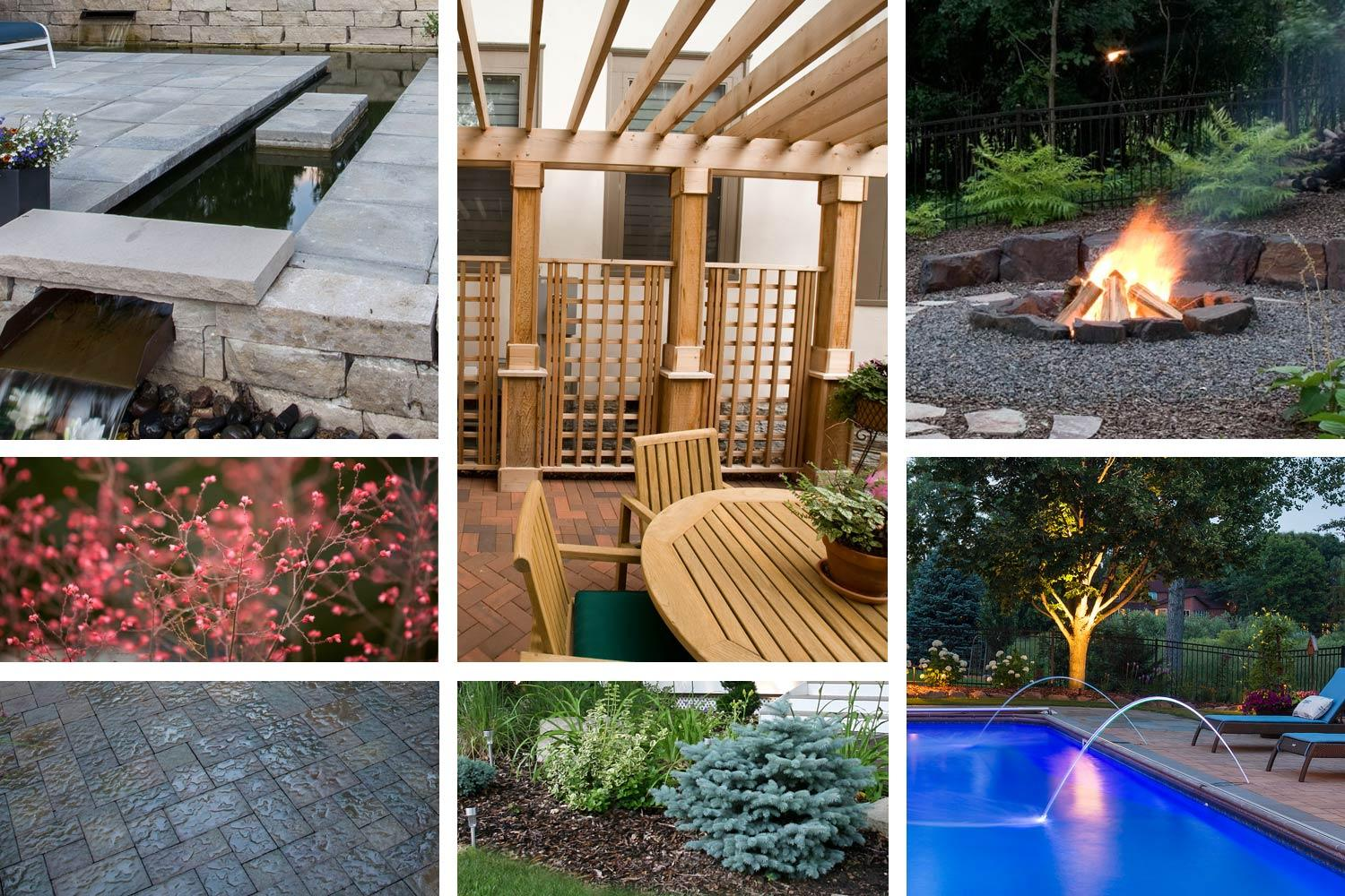 Landscaping moodboard