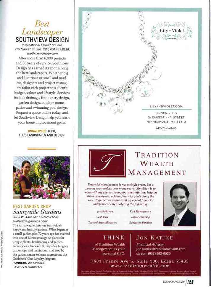 Best of Edina Magazine 2014