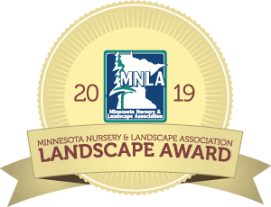 Minnesota Nursery and Landscape Association award winning badge