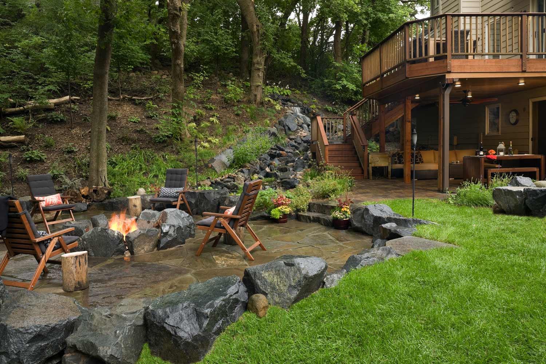 Eagan Backyard Wins Landscaping Award Southview Design