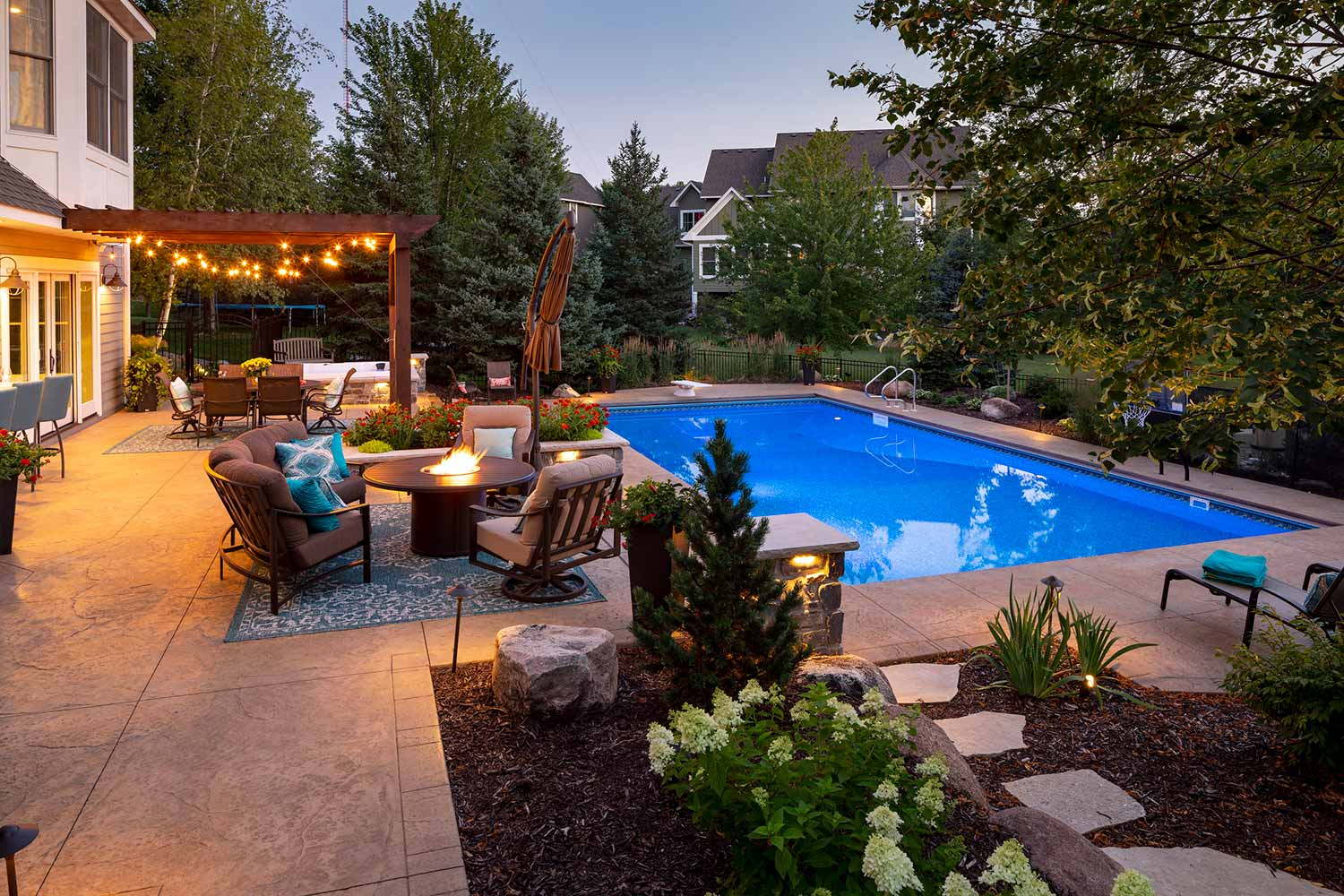 award-winning destination backyard