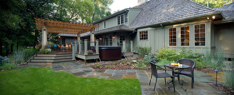 Laid Back North Oaks Backyard Landscape Southview Design