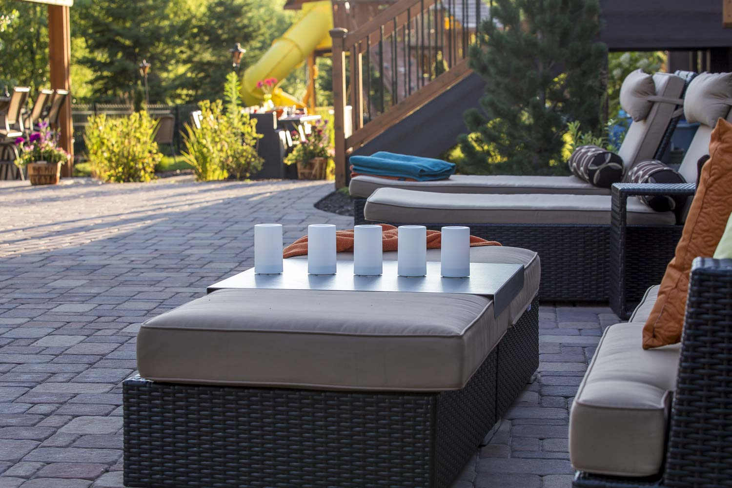 Sophisticated Outdoor furniture on patio minnesota